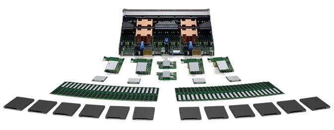 PowerEdge M830刀片式服务器 - 融合IT资源